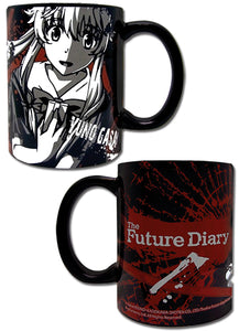 Future Diary - Yuno Black Mug
