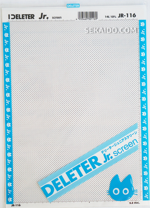 DELETER Jr. Screentone - 182 x 253mm - JR-116 (Black Dots)