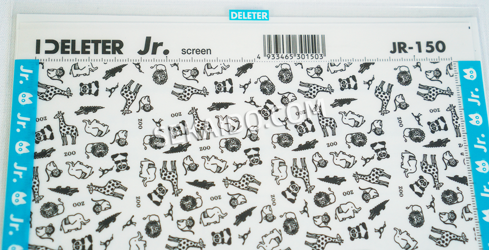 DELETER Jr. Screen Tone - 182 x 253mm - JR-150