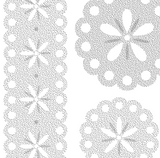 DELETER Jr. Screentone - 182 x 253mm - JR-505 (Flower-lace Pattern)