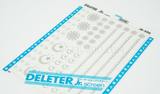 DELETER Jr. Screentone - 182 x 253mm - JR-506 (Moon and Moon Pattern)