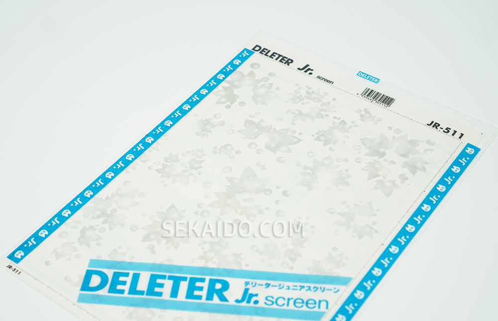 DELETER Jr. Screentone - 182 x 253mm - JR-511 (Maple Leaves and Romantic Mood Pattern)