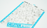 DELETER Jr. Screentone - 182 x 253mm - JR-512 (Butterfly and Plant Pattern)
