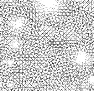 DELETER Jr. Screentone - 182 x 253mm - JR-524 (Cross-hatching and Lights Pattern)
