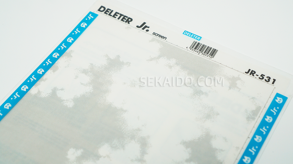 DELETER Jr. Screentone - 182 x 253mm - JR-531 (Sky Pattern)