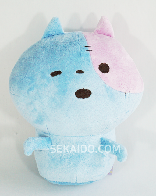Kyofu! Scary Zombie Blue Cat Plush