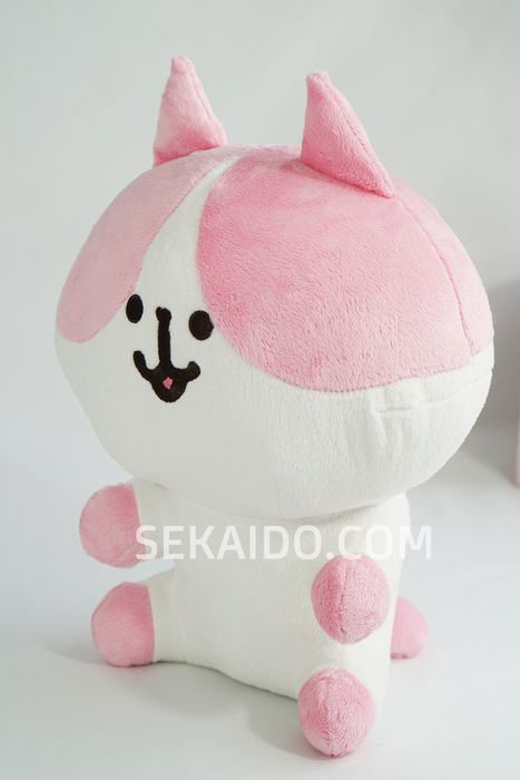 Kyofu! Scary Zombie Pink Sitting Cat Plush