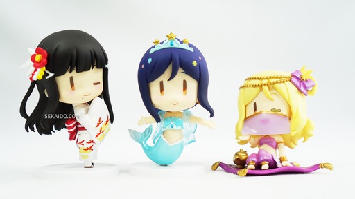 Love Live! Sunshine!! School Idol Project Chobirume Petit Figure - Dia, Kanan, Mari