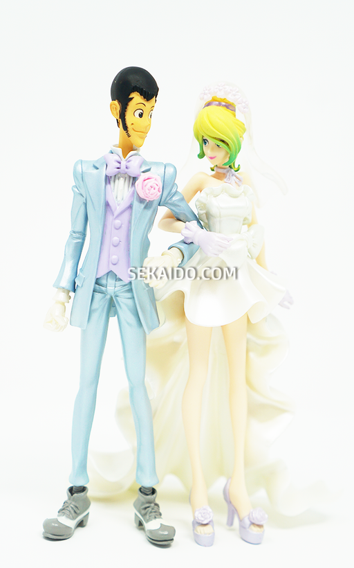 Lupin the Third - CREATOR X CREATOR Figure - Lupin the Third & Rebecca Rossellini Wedding Version