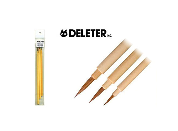 DELETER Menso Brush Set (3 pieces)
