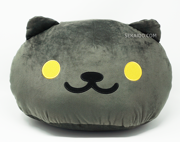 Neko Atsume: Kitty Collector Large Face Plush (Black)