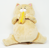 Neko no Hi Big Hotdog Gimmick Plush