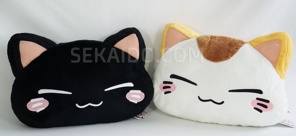 Nemuneko Large Face Plush Cushion