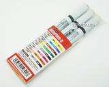 DELETER Neopiko-2 Dual-tipped Alcohol-based Marker - Red Set