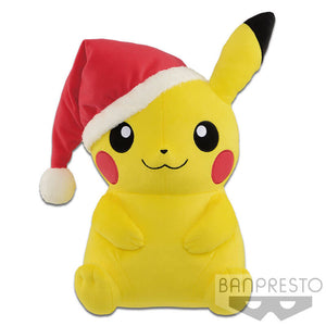 Pokemon Pikachu Christmas Santa Hat Plush