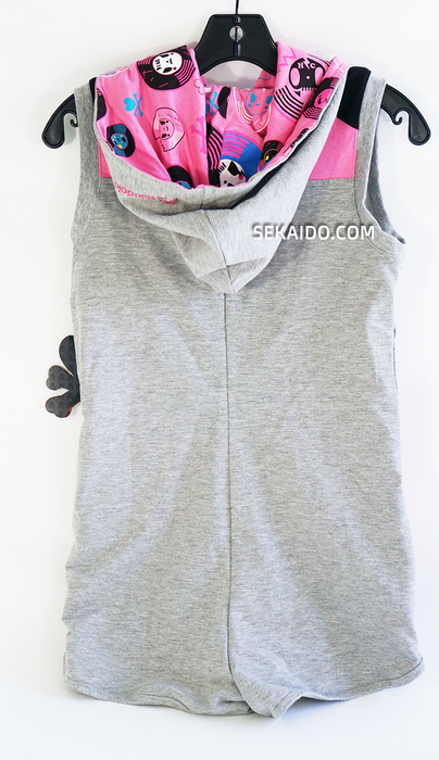 Tokidoki Record Bling Women's Sleeveless Jumper Hoodie