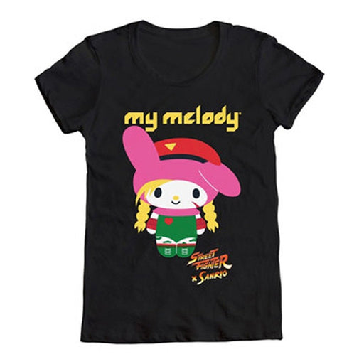 Sanrio - My Melody X Street Fighter Cammy Junior T-Shirt