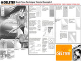 DELETER Jr. Screentone - 182 x 253mm - JR-520 (Cloud Effect Pattern)