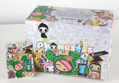 Tokidoki Phonezies Series 1 Blind Boxes (30 Figures per case)