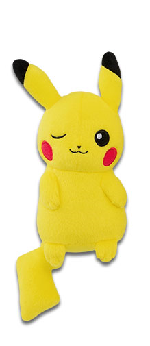 Pokemon Sun & Moon Relax Time Pikachu Plush