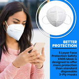 6/10/20/50 - Pcs Ouleok Protection Breathable Cover Face Mask 5-Layer Respirator US Seller