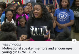 Our founder, motivational speaker Cameo Bobo, travels to her hometown to spread the FAWM Message!
