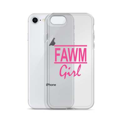 FAWM Girl iPhone Case