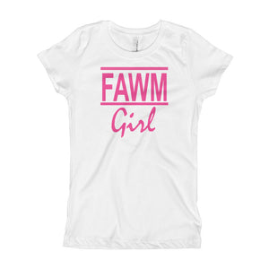 FAWM Girl - Girl's T-Shirt (girls sized 3-16)