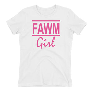 FAWM Girl Teen T-shirt (Also Fits Adults)