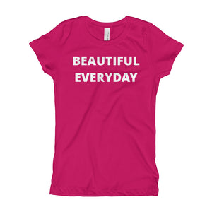 Beautiful Everyday Girl's T-Shirt (girls size 3-16)