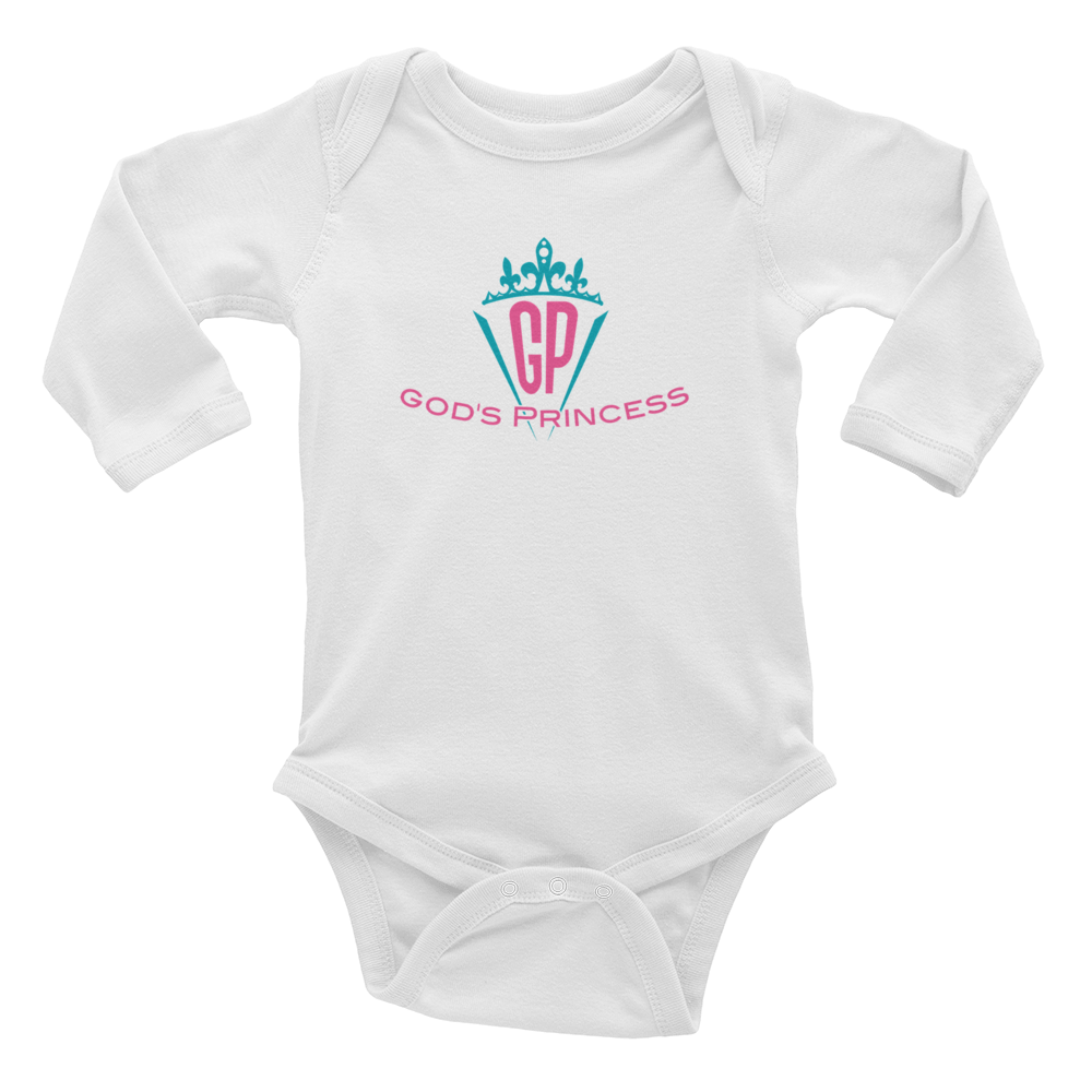 God's Princess - Infant Long Sleeve Bodysuit