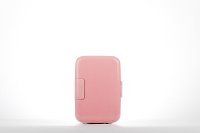 Pink CoolingBeauty Makeup Fridge