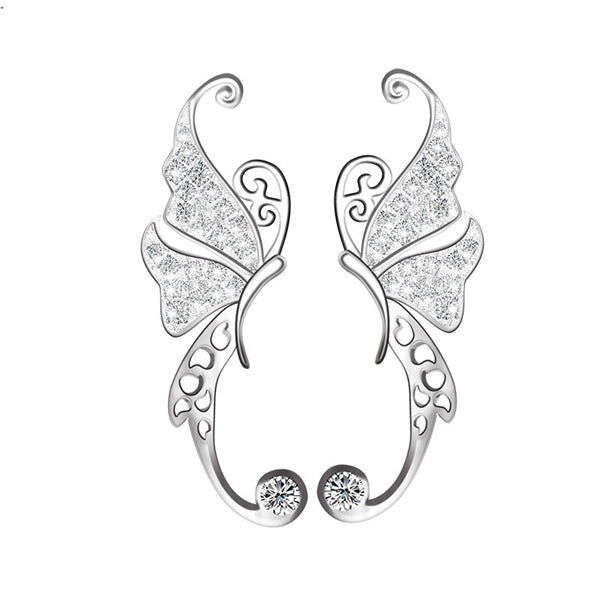 925 Silver Butterfly Earrings - Canitrini