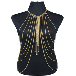 Mary Tassel Body Chain - Canitrini