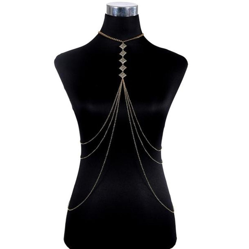 Layered Elegant Body Chain