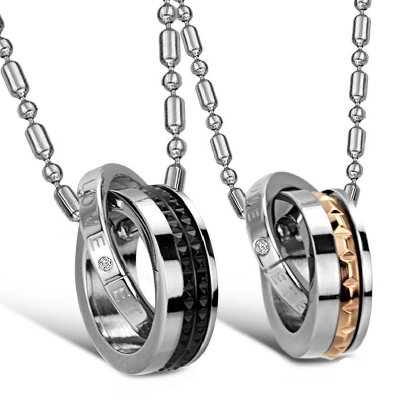 Eternal Love Interlocking Couples Necklaces - Canitrini