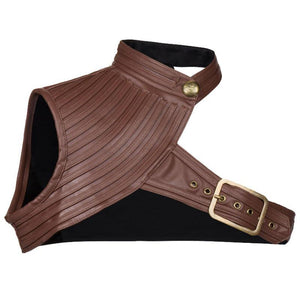 Leather One-Shoulder Bolero (S-6XL) - Canitrini