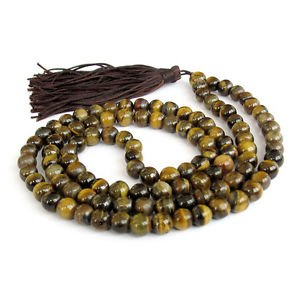 Rare 108 Tiger Eye Rosary 10mm