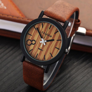 Casual Wooden Relojes Quartz  Watch - Canitrini