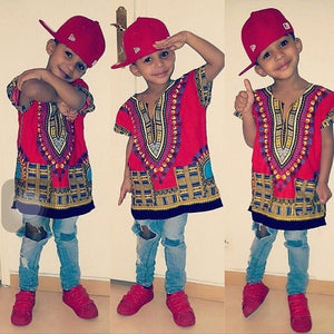 Toddlers Dashiki Size XXS - XL) - Canitrini