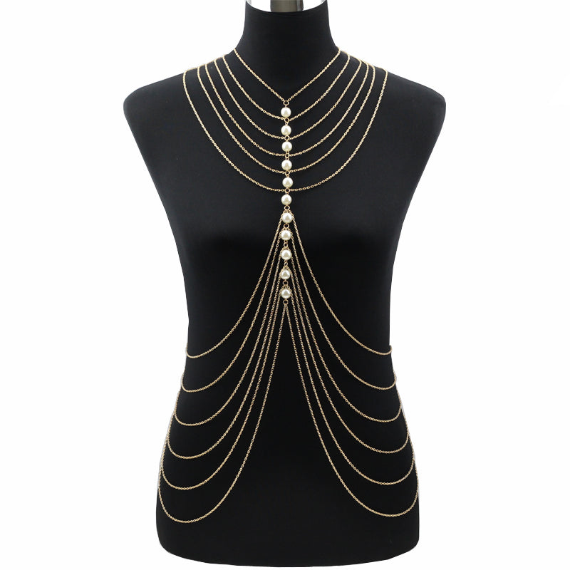 Multi-Layer Elegant Mandy Body Chain - Canitrini