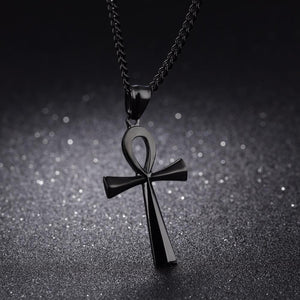 """Life"" Egyptian Ankh Necklace - Canitrini"
