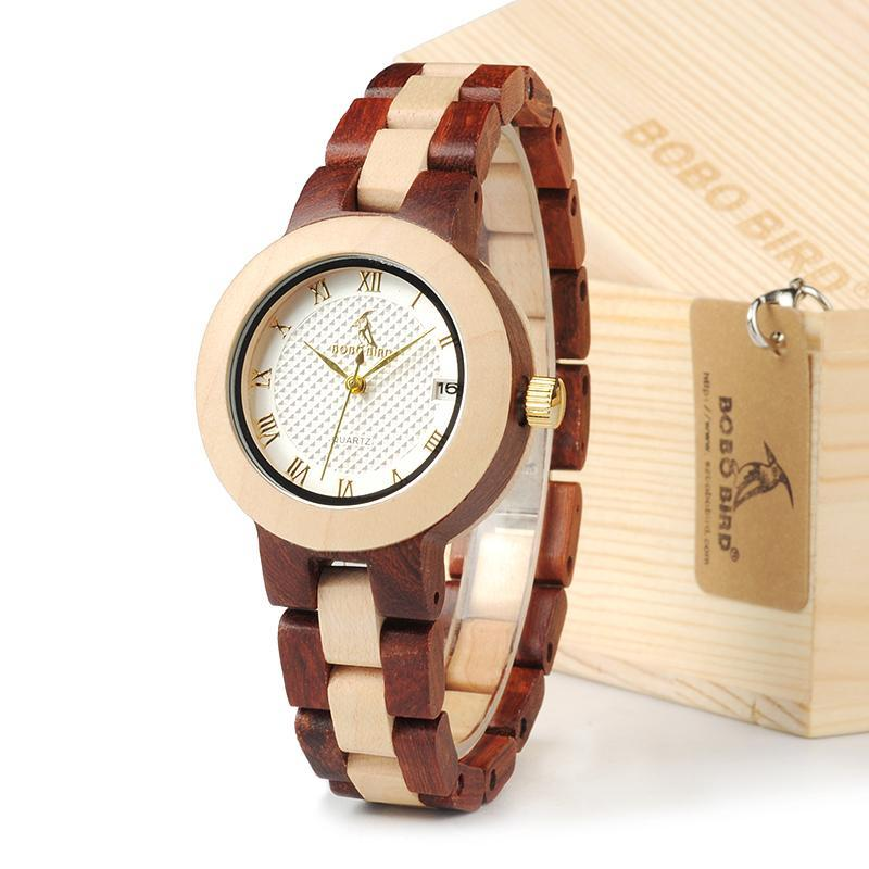 Bamboo & Rose Sandal Watch - Canitrini