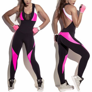 Backless Fitness Bodysuit (S-XL) - Canitrini