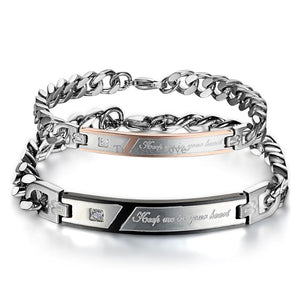 """Keep Me In You Heart"" Bracelet - Canitrini"