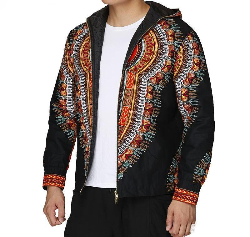 Dashiki Casual Jacket (S-4XL) - Canitrini
