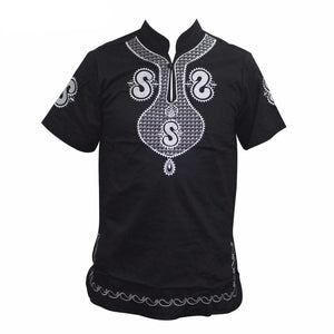 Dashiki Embroidery Shirt (M-XL) - Canitrini