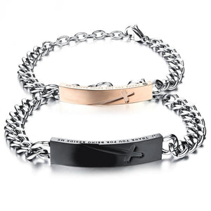 """Thank You For Being Beside Me"" Bracelet - Canitrini"