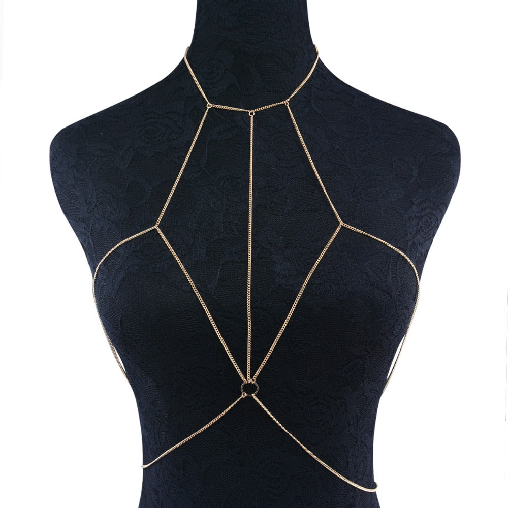 Crossover Body Chain Harness - Canitrini