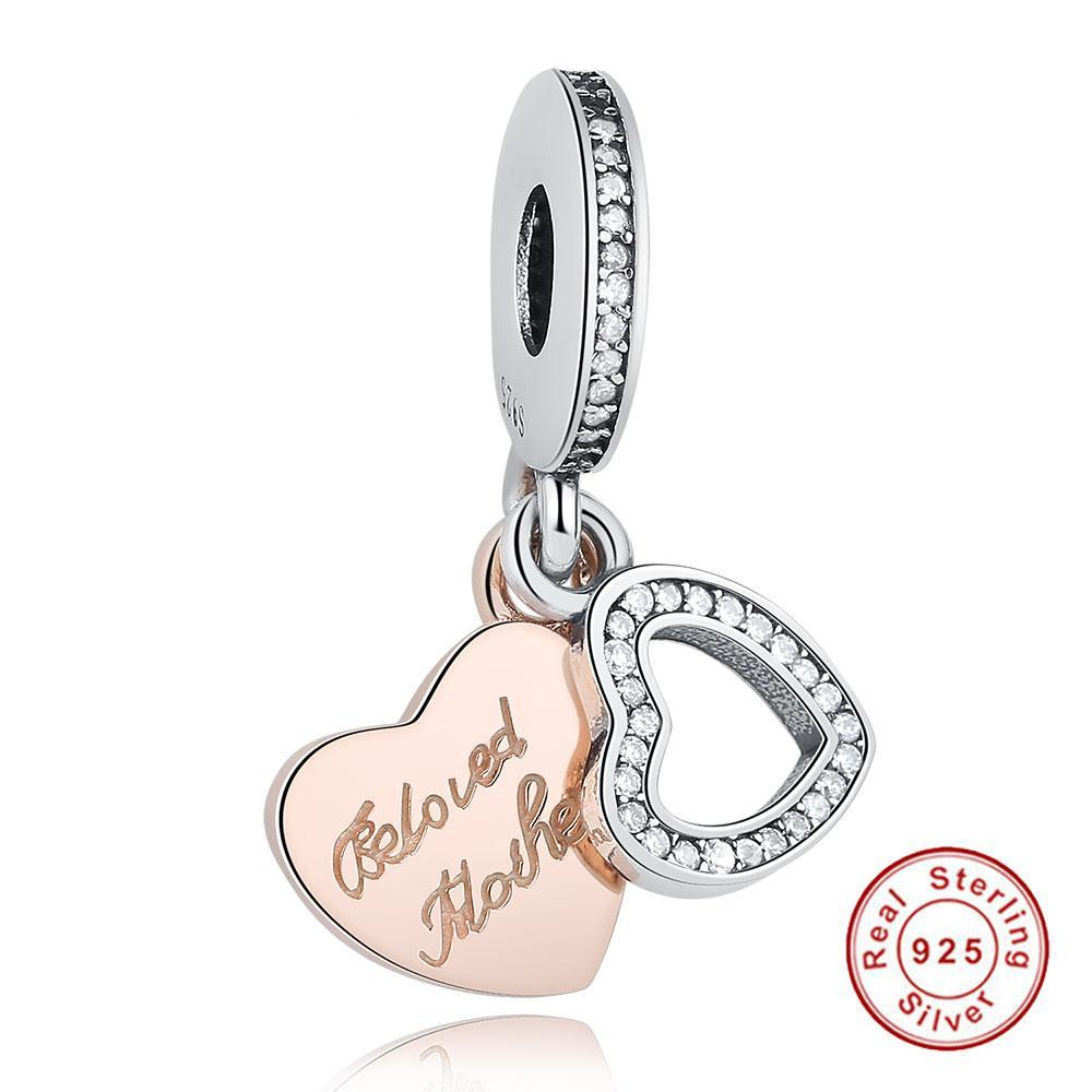 925  Silver Beloved Mother Charm - Canitrini